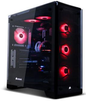 武极 i7 7700K华硕GTX1080Ti 16G 512G水冷DIY组装机