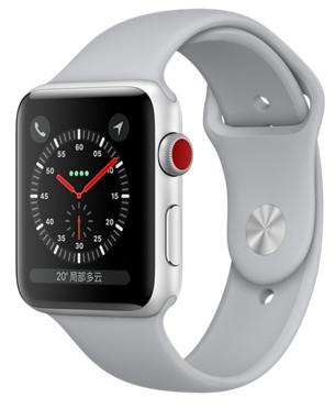 Apple Watch Series 3 42 毫米 GPS+蜂窝网络表款